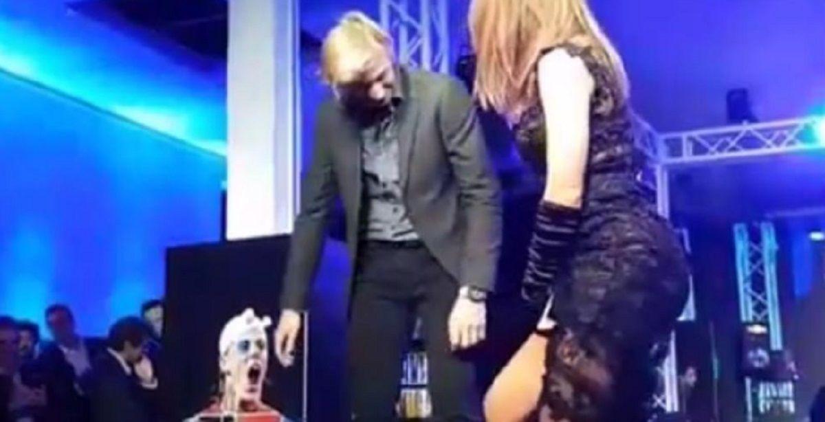 El canadiense Denis Shapovalov durante el polémico sorteo