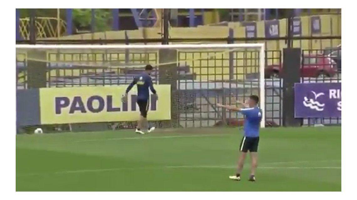 En Boca se siguen burlando de River: ¡pidieron el VAR en un entrenamiento!