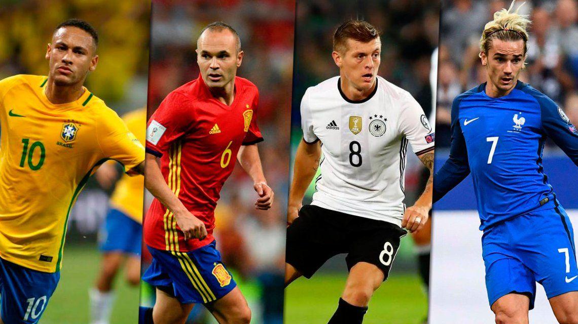Messi contó quiénes son sus favoritos para el Mundial y a quién no quiere cruzarse