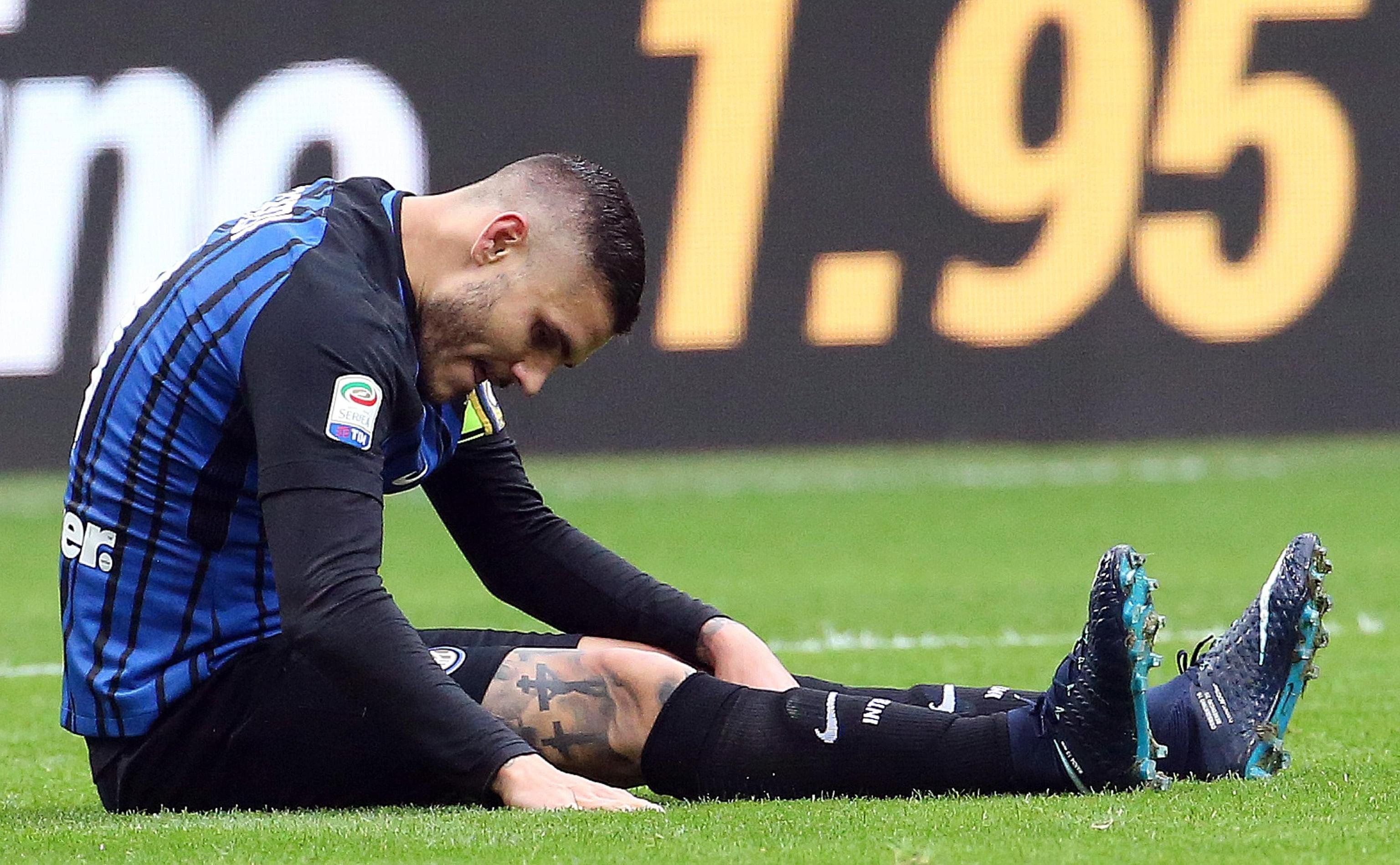 Polémica por Mauro Icardi: un leve golpe lo bajó de la gira ¿y del Mundial?