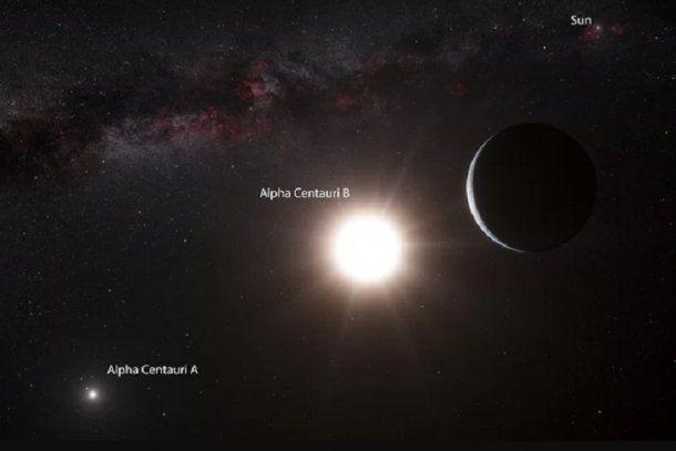 Alfa Centauri es el sistema estelar más cercano al Sol que está a unos 4,37 años luz