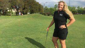 Me encanta el golf, siento que tengo potencial, admite Dahlgren, que además practica judo y jujitsu
