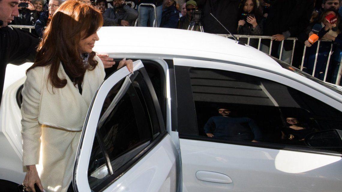 Cristina Kirchner inscribió al frente Unidad Ciudadana