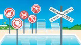 La cheta de Nordelta: qué se puede hacer y qué no en una pileta de country o edificio