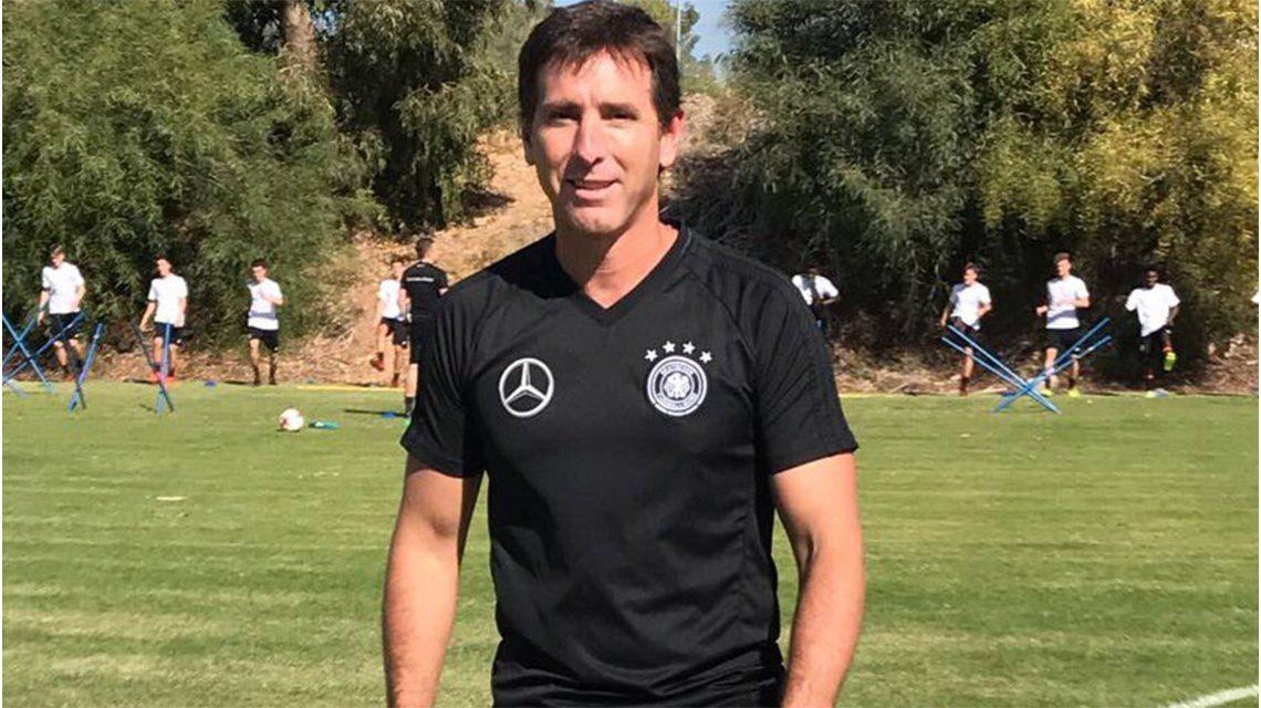 El ex DT de la Sub 20 de Argentina trabajará con los juveniles alemanes en Chipre