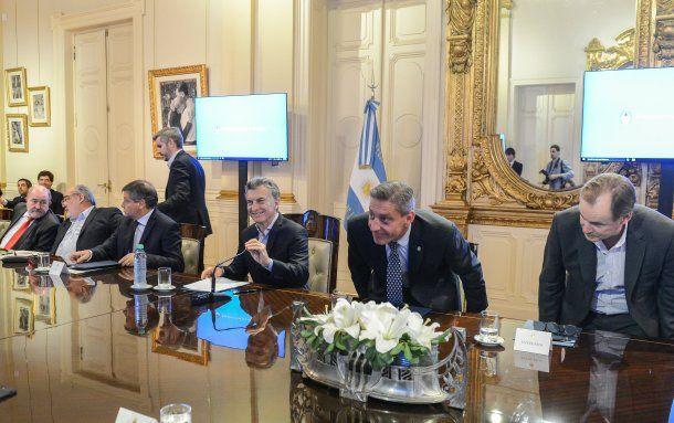 Macri encabezó la reunión con los gobernadores<br>