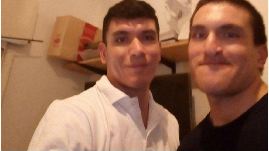 Francisco Ríos (28) y Emanuel Godoy (27).