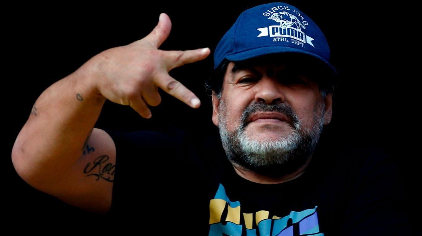 El fuerte mensaje de Maradona contra los chilenos por las Islas Malvinas