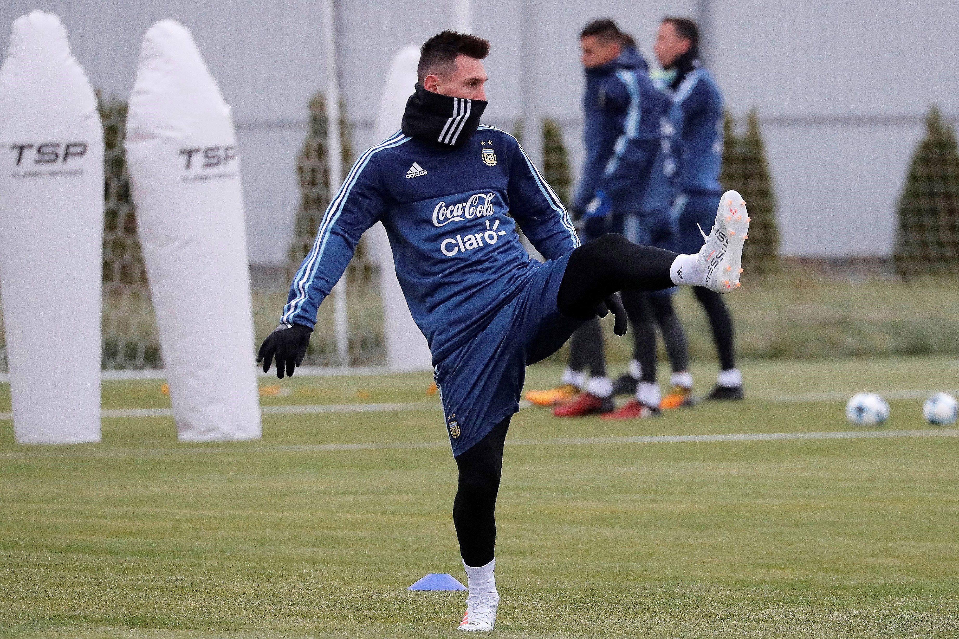El 10 argentino es la gran atracción en suelo ruso