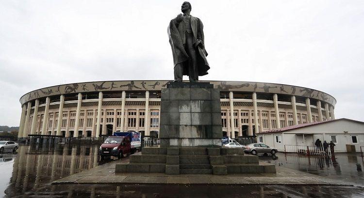 Así es el imponente estadio de Luzhniki, donde Argentina jugará el amistoso frente a Rusia