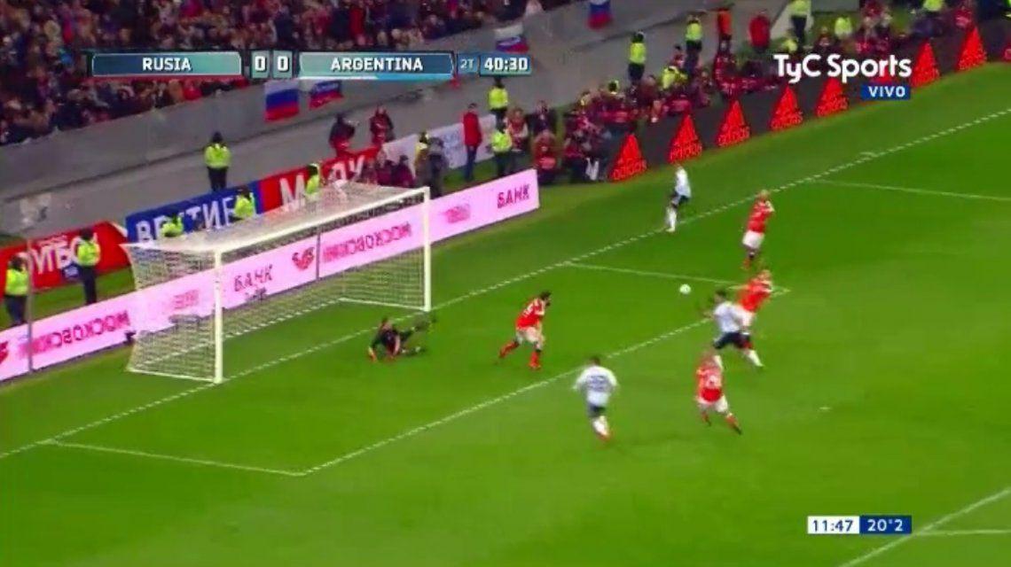 VIDEO: Pavón asistió y Agüero se sacó la mufa: gol de Argentina