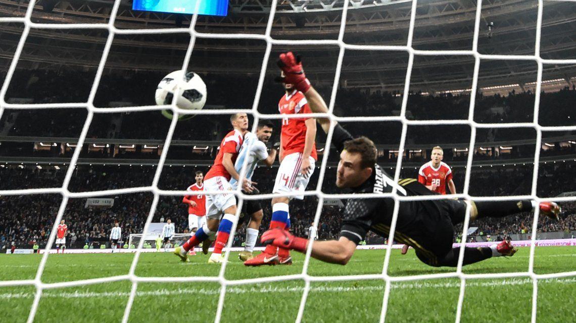 Rusia vs Argentina: formaciones, resumen y goles