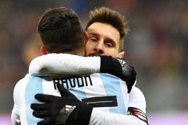 Lionel Messi elogió a Cristian Pavón<br>