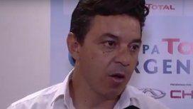Crítico, Gallardo dice que la victoria servirá para mirar hacia delante
