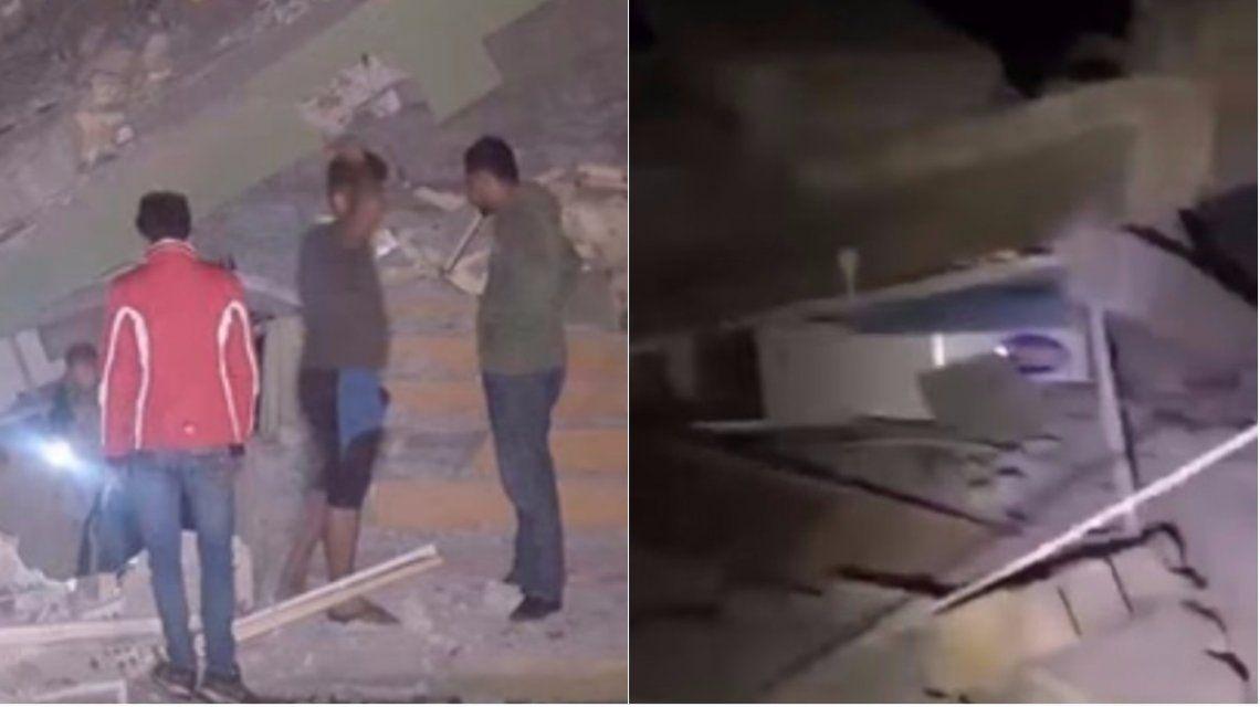 Al menos 328 muertos por un terremoto de 7,3 en la escala Richter en Irán