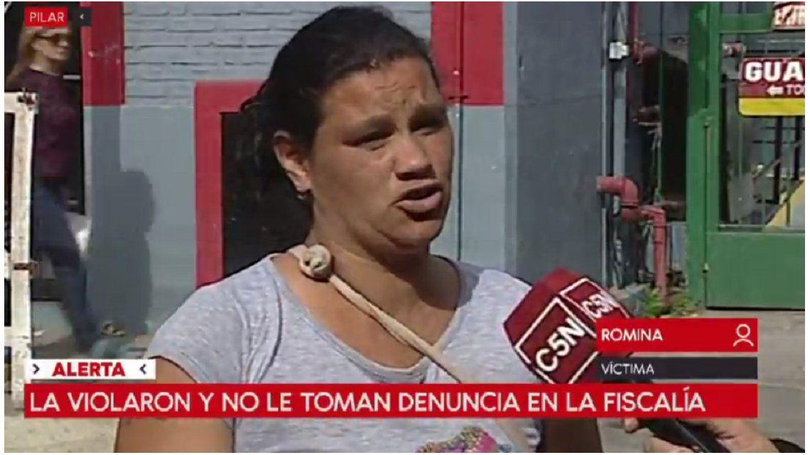 El calvario de Romina: dice que la violaron y no le quieren tomar la denuncia