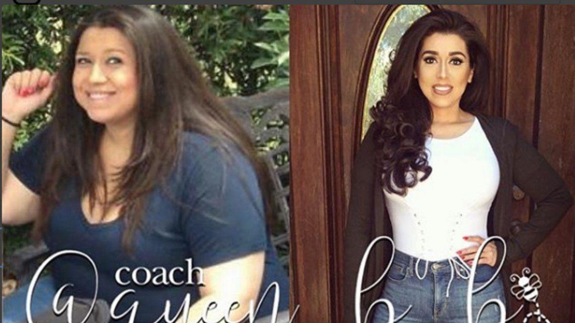 Betsy Ayala llegó a pesar 130 kilos