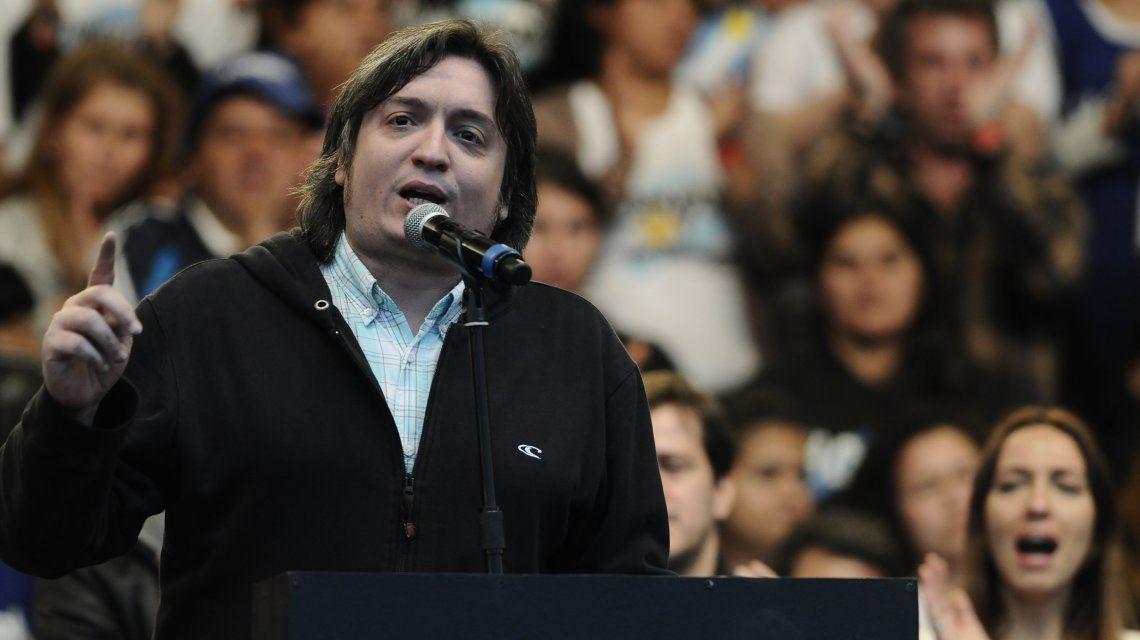 Máximo Kirchner ya se encuentra en Comodoro Py