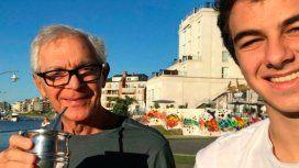 Constantini y su hijo también tomaron mate en Nordelta el sábado