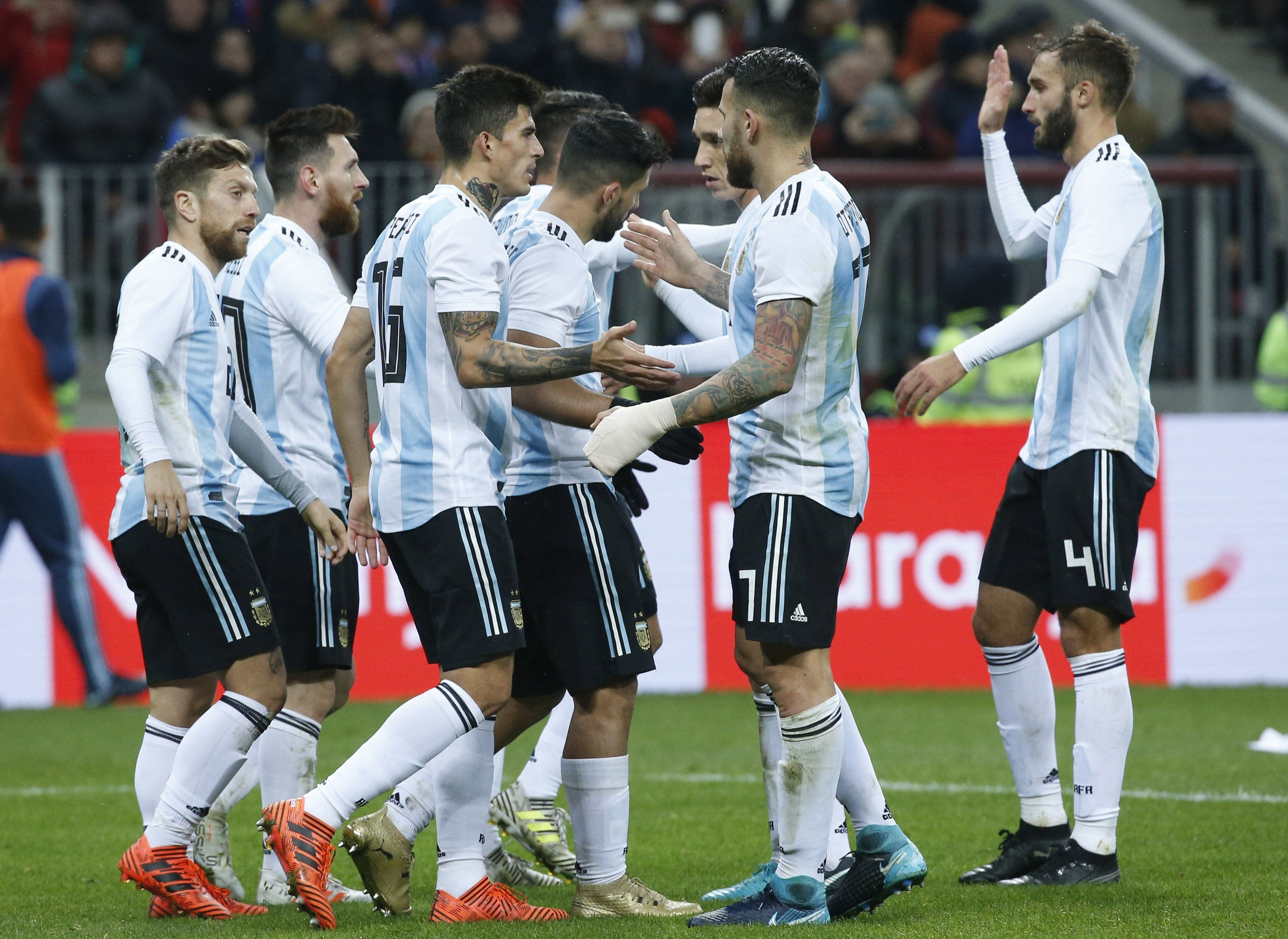 argentina vs nigeria en krasnodar horario formaciones y tv