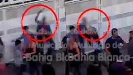 Batalla campal a la salida de un club en Bahía Blanca