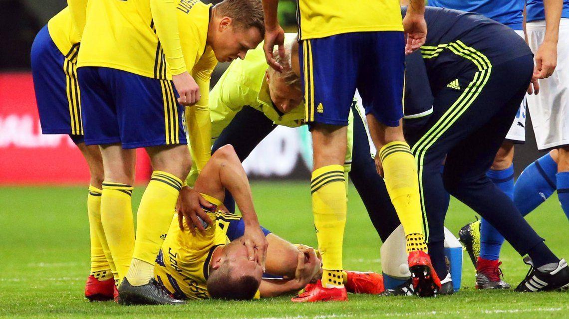 El dolor de Johansson y todo Suecia