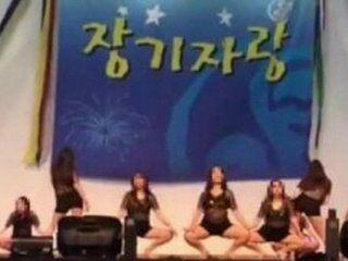 escandalo en corea del sur: enfermeras son forzadas a realizar un baile erotico