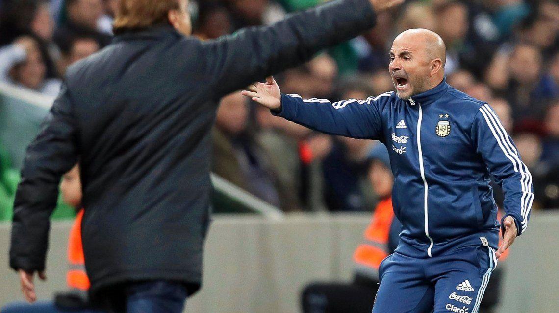 Jorge Sampaoli contó cuál fue su mayor preocupación tras la derrota ante Nigeria