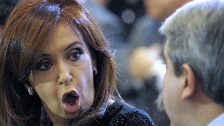 Cristina Kirchner y Aníbal Fernández