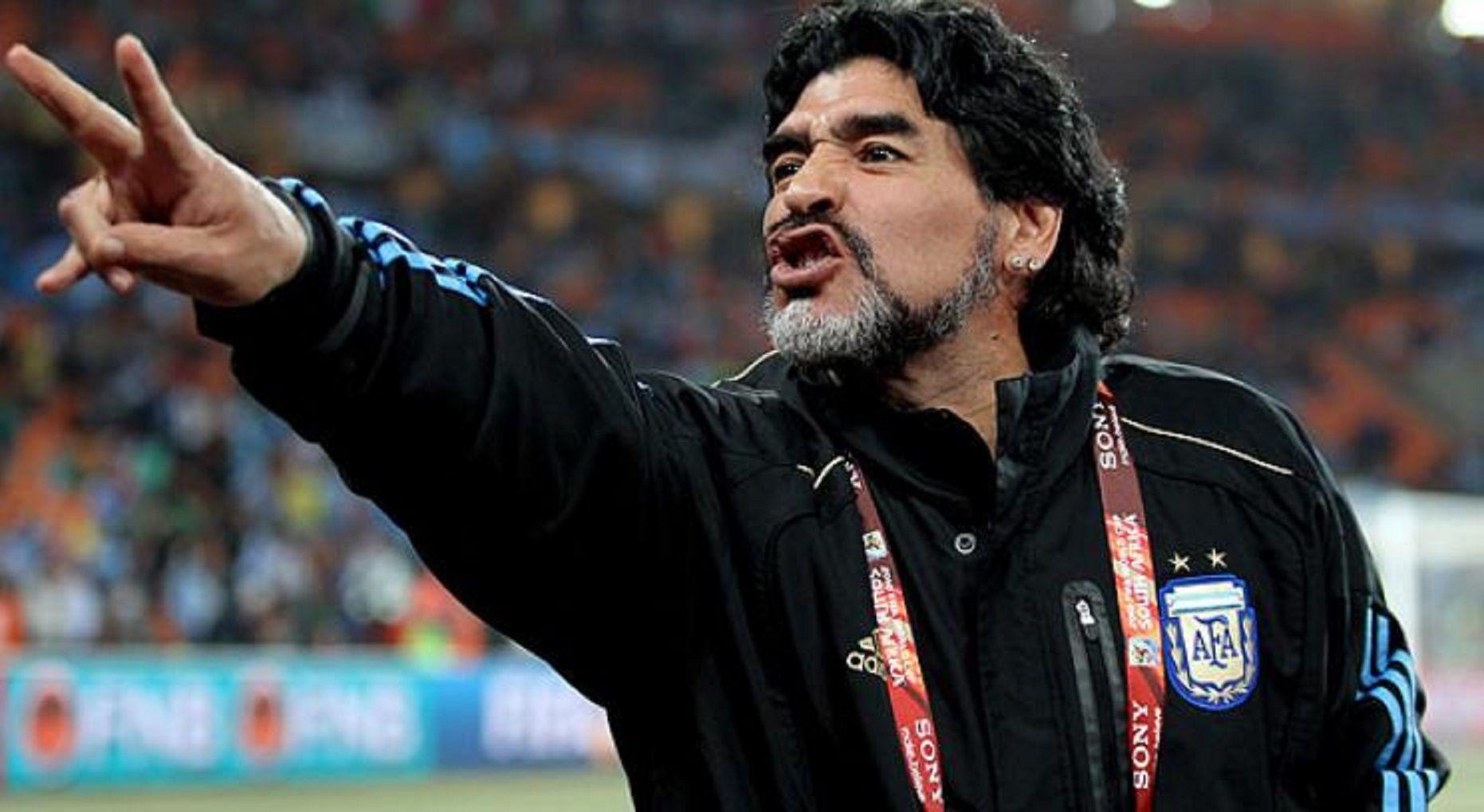 Maradona quiere volver a ser técnico de la Selección.