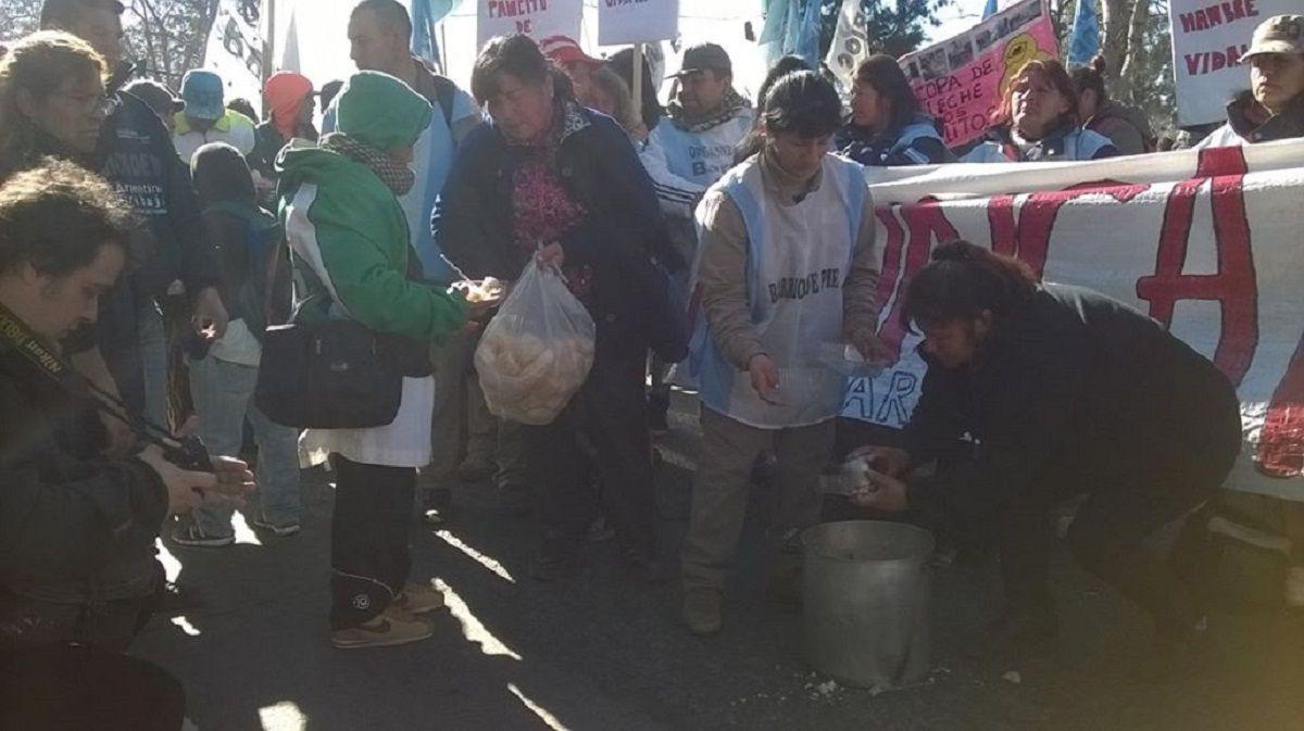 Jornada de ollas populares en puntos importantes de la Ciudad