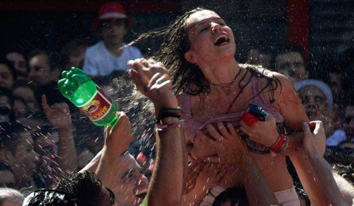 Declaró la víctima de La Manada, un grupo acusado de una violación masiva en San Fermín