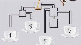 El desafío de las tazas de café: ¿cuál se llena primero?