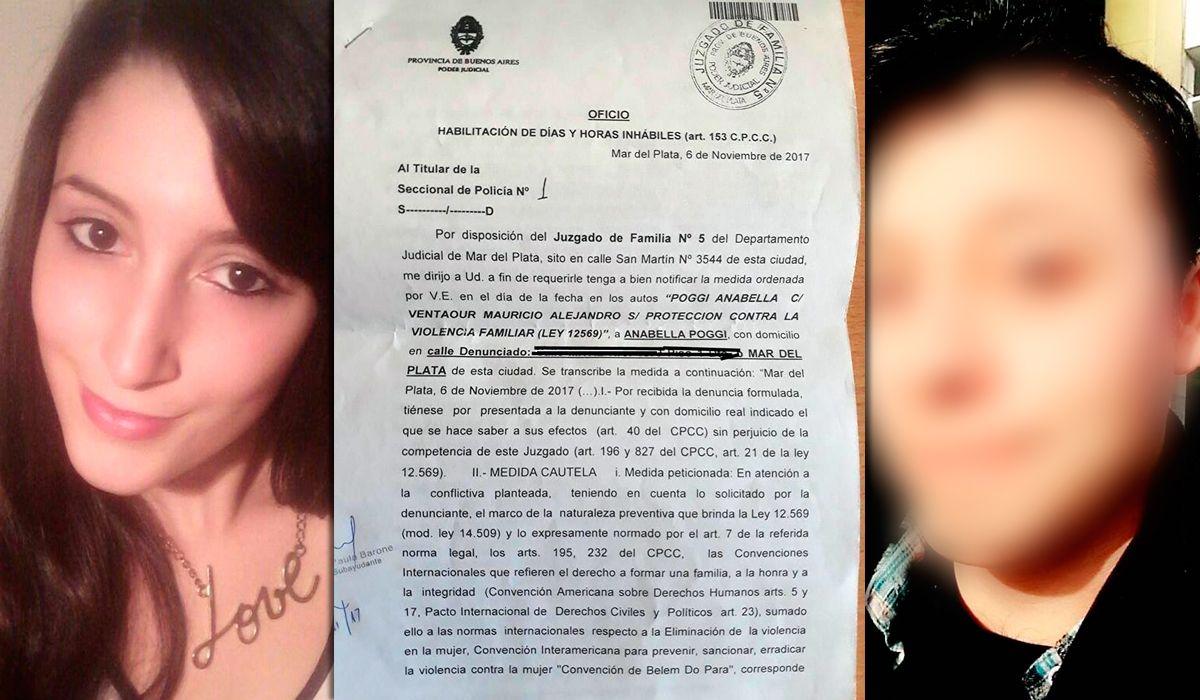 Anabella denunció a su ex por violencia de género