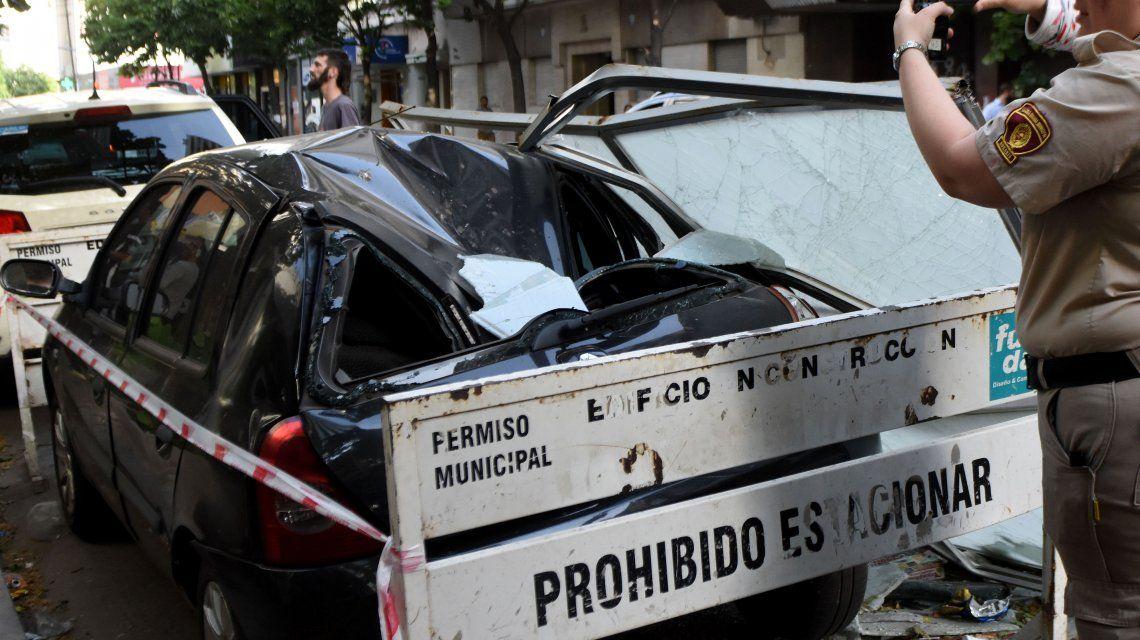 Temporal siniestro en Rosario: dos muertos y varios heridos tras diversos choques