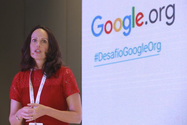Jacquelline Fuller, presidenta de Google.org