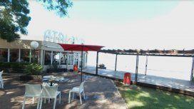 Triste adiós: cerró el local de Atalaya frente a la laguna de Chascomús