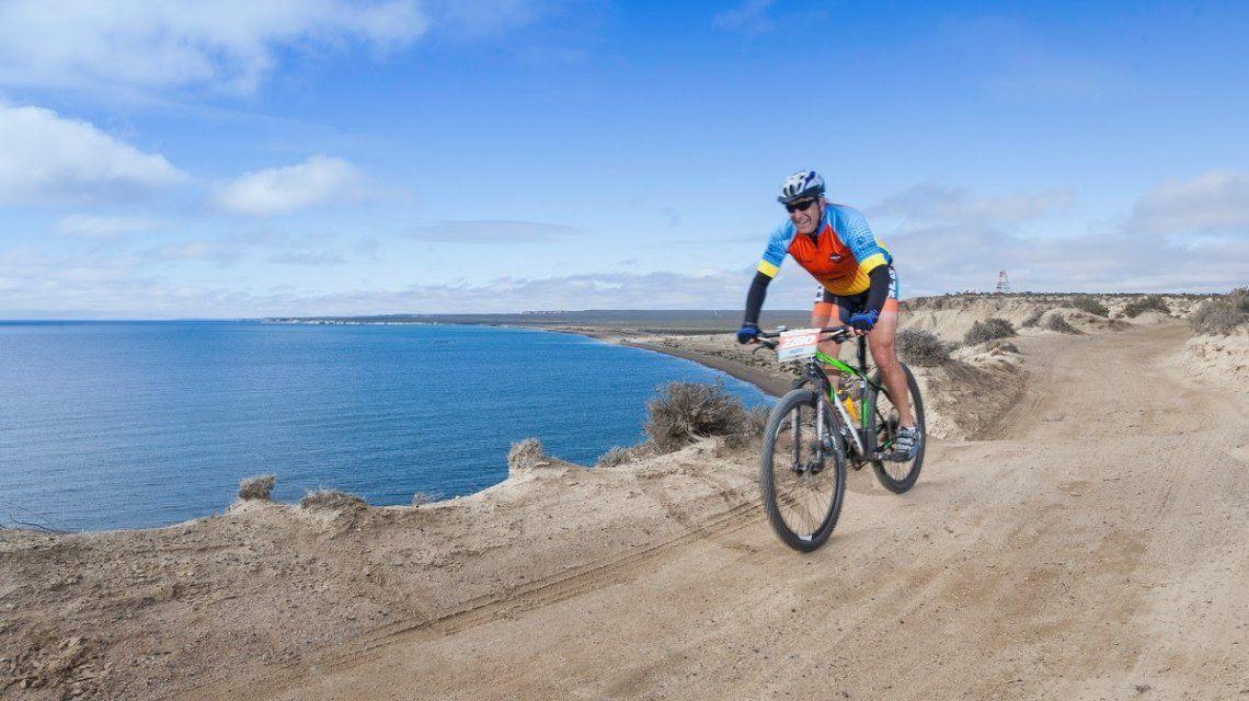 Ciclismo junto a la costa