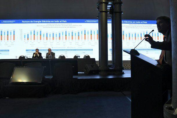 La audiencia pública del Ente Nacional Regulador de la Electricidad<br>