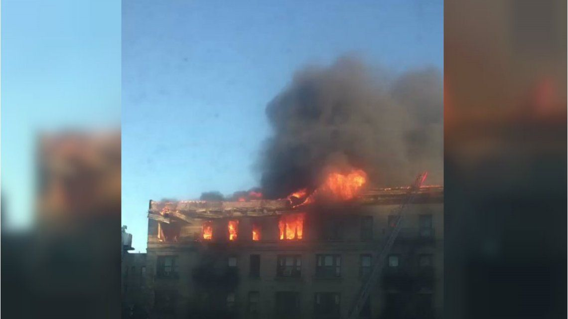 El edificio estaba desocupado