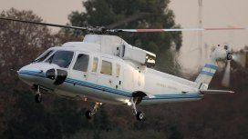 El helicóptero que llevaba a Macri a Chapadmalal debió aterrizar de emergencia