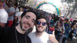 Se realizó la XXVI Marcha del Orgullo Gay en Buenos Aires