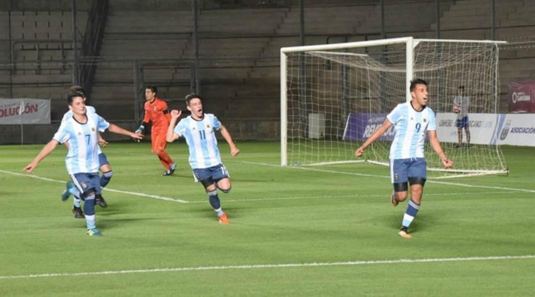 La Selección Sub 15 jugará la final con Brasil