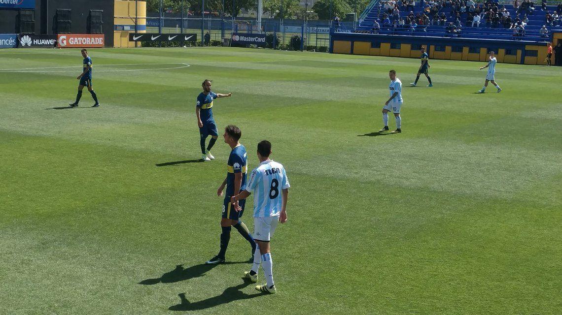 Sebastián Pérez volvió a jugar en Reserva tras su lesión en la rodilla