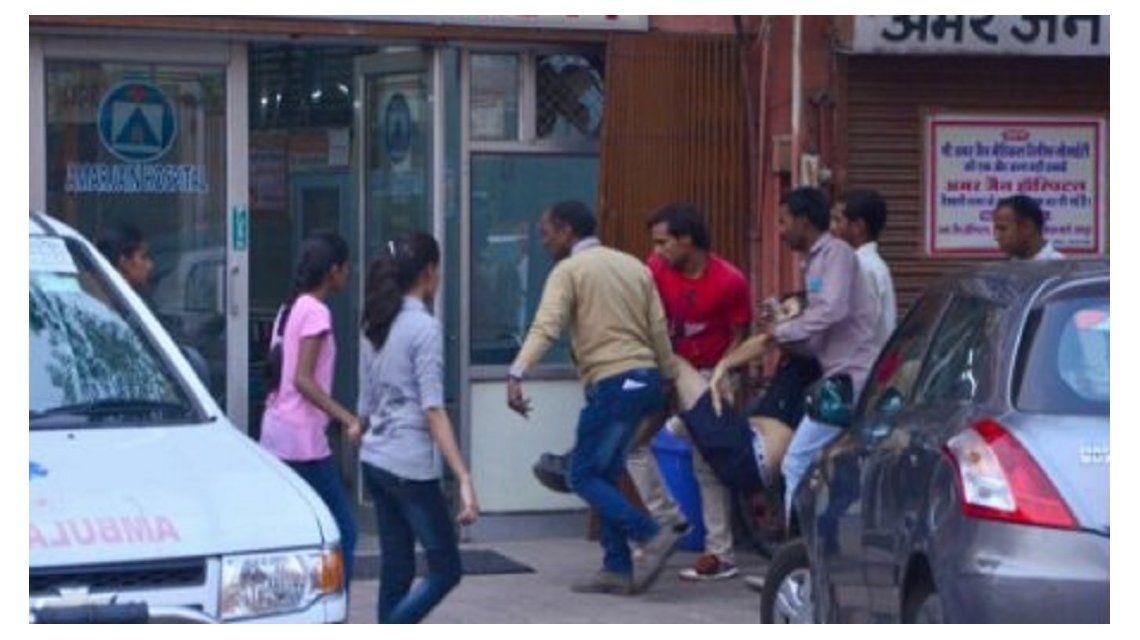 India: un turista argentino murió atacado por un toro