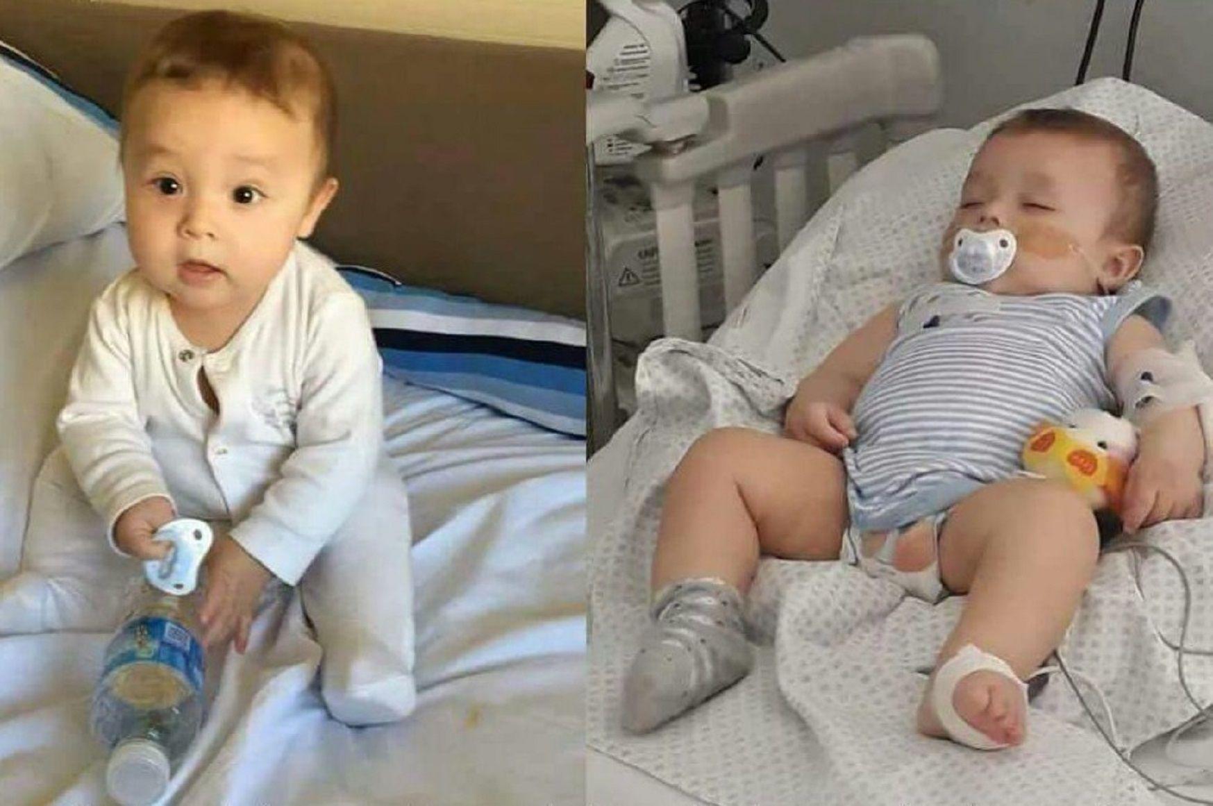 Pietro tiene la enfermedad de Kawasaki y necesita un corazón urgente.