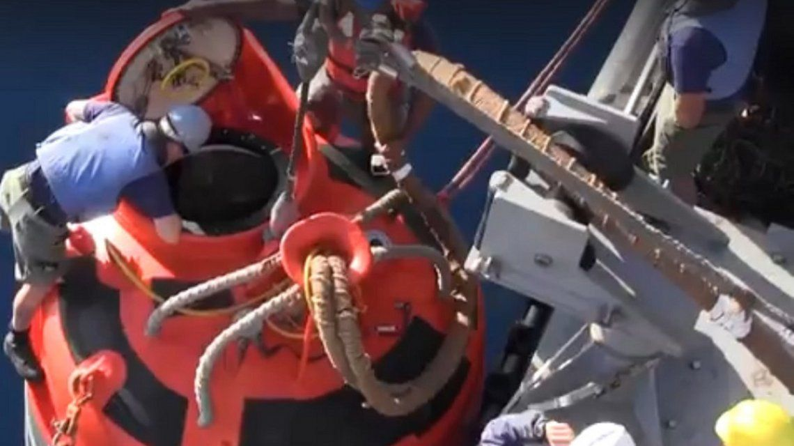 Así es el equipo de rescate de Estados Unidos para buscar el ARA San Juan