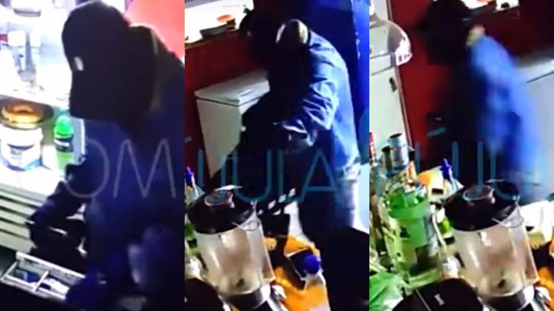Ladrones robaron un local en Bahía Blanca.