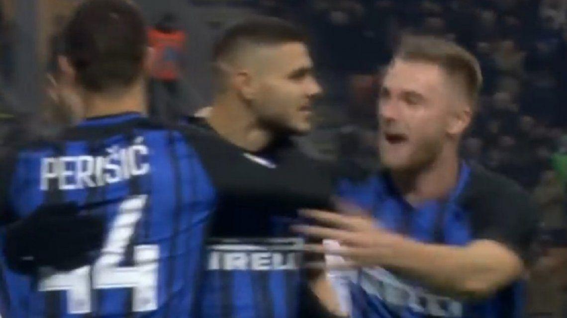 Doblete de Icardi para la victoria del Inter sobre Atalanta
