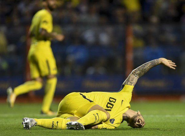 Darío Benedetto lesionado ante Racing<br>
